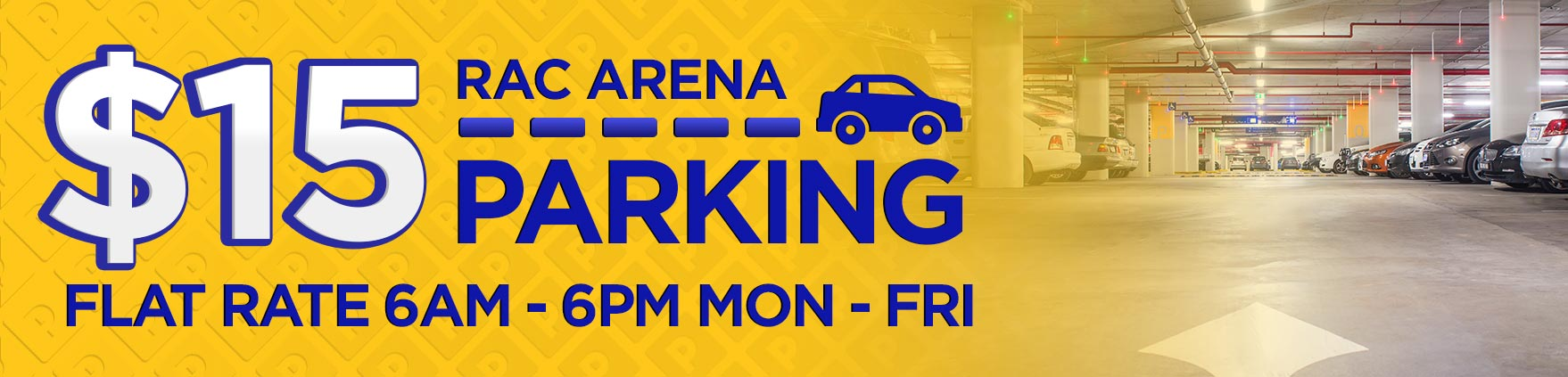Parking Rate Banner
